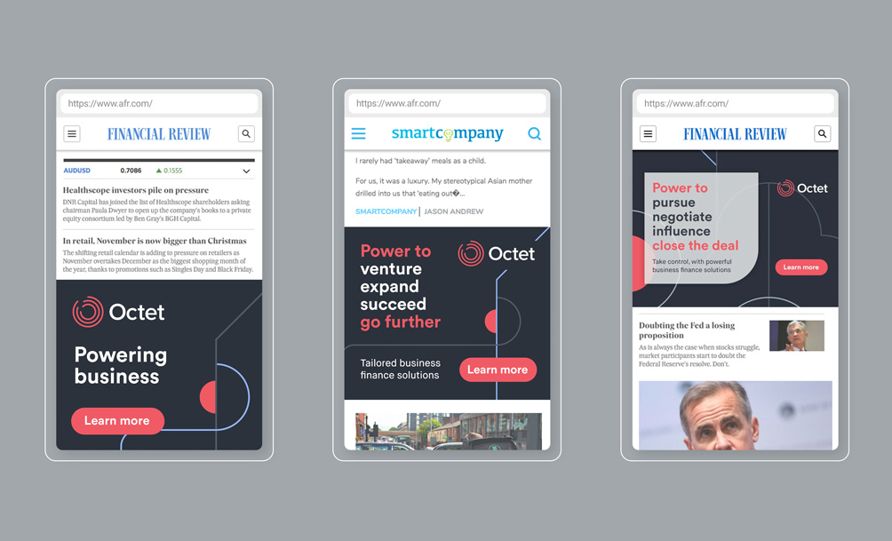 Octet Mobile Campaign